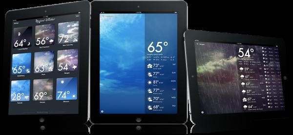 Magical Weather em iPads