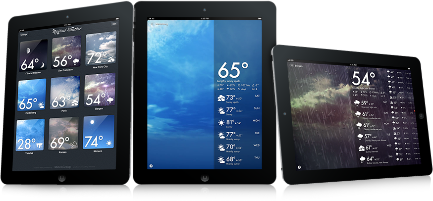 Magical Weather em iPads