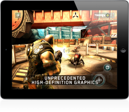 Shadowgun no iPad