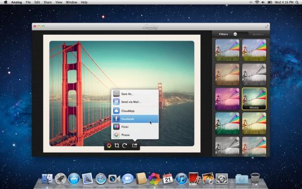 Analog - Mac OS X