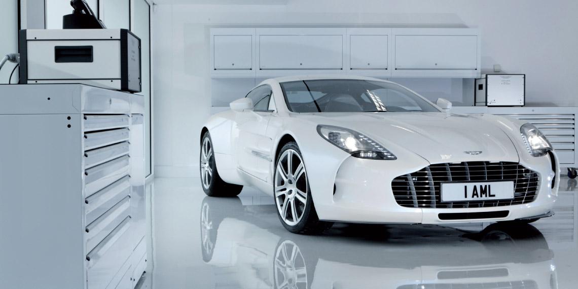 Carro da Aston Martin