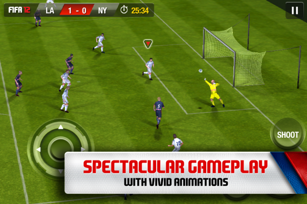 FIFA SOCCER 12 - iPhone