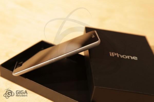 Mockup físico de iPhone 5