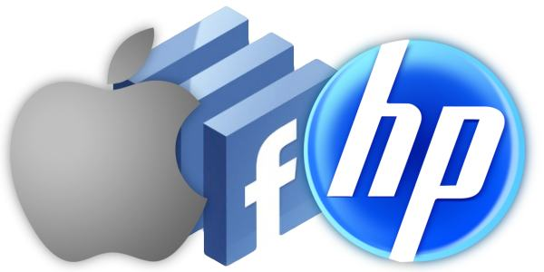 Apple, Facebook e HP