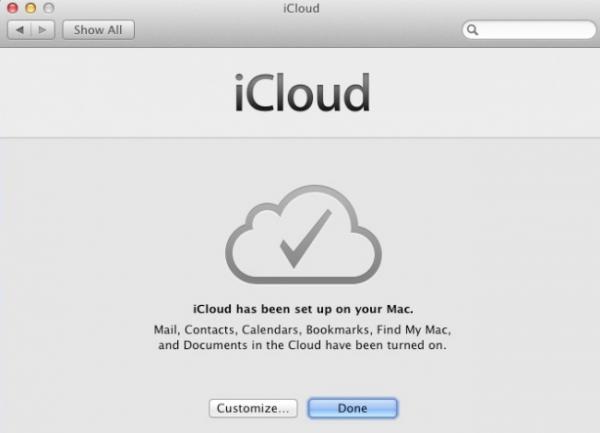 Fim - iCloud
