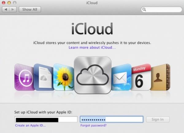 Login - iCloud
