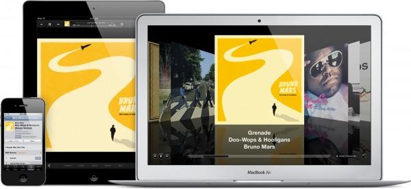 Músicas (iTunes in the Cloud) no iCloud
