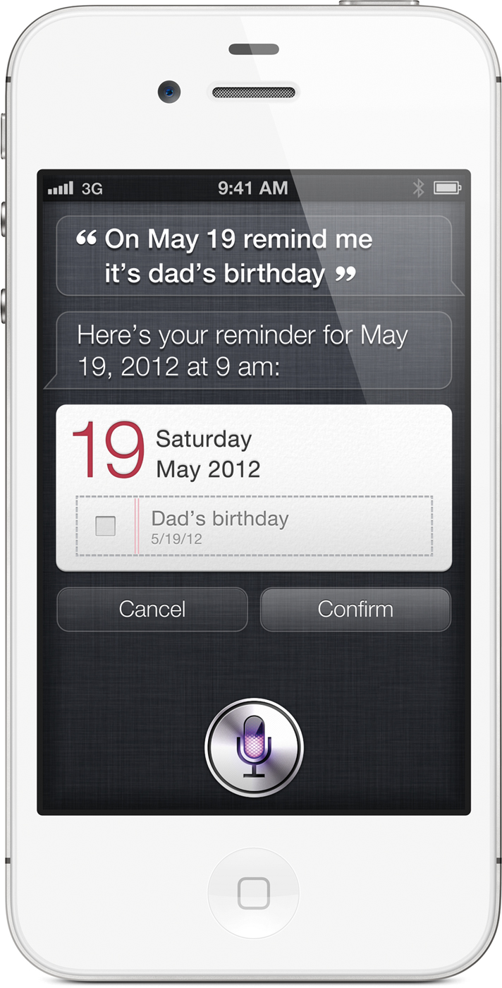 Siri do iPhone 4S
