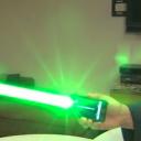 iPhone 5 com sabre de luz