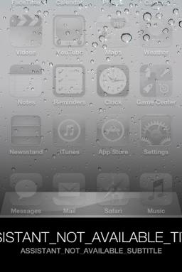 Siri hackeado em iPod touch