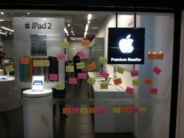 Homenagem a Steve Jobs na iTown de Recife