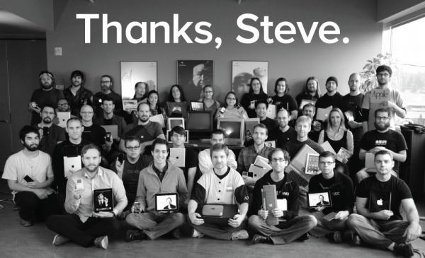 Homenagem do Omni Group a Steve Jobs
