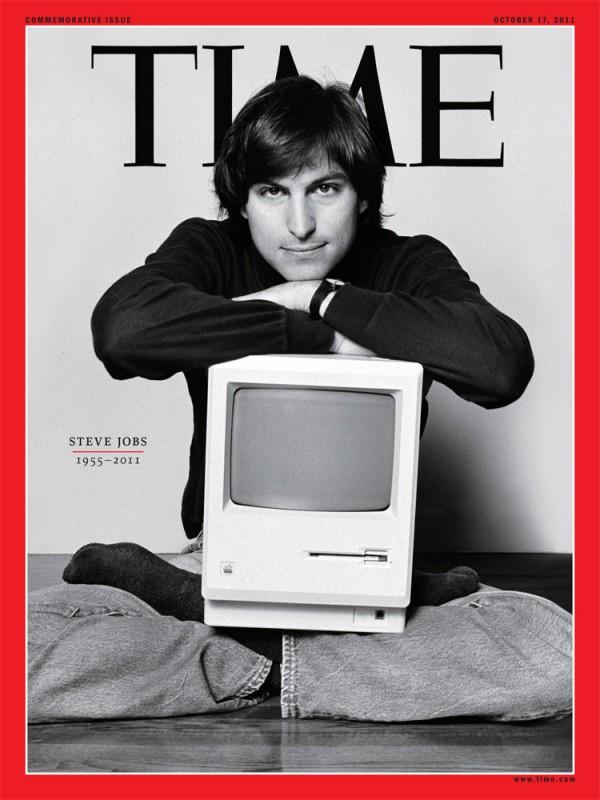 Steve Jobs na capa da TIME