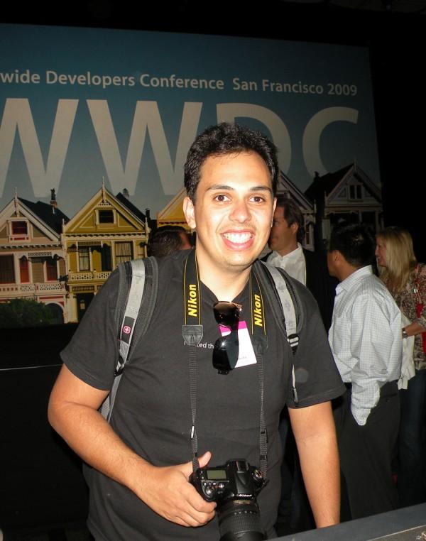 Breno Masi na WWDC 2009