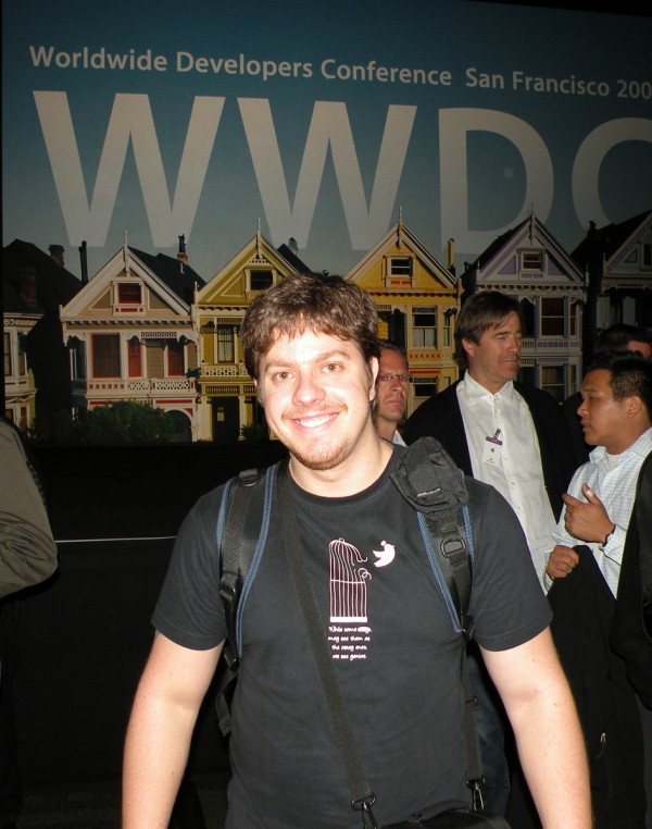Rafael Fischmann na WWDC 2009