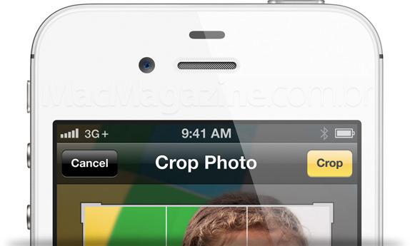 iPhone 4S com sinal 3G+