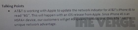 Marcação 4G aparecendo no iPhone 4S?
