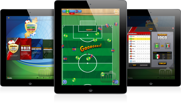 Mobits Button Soccer HD - iPads