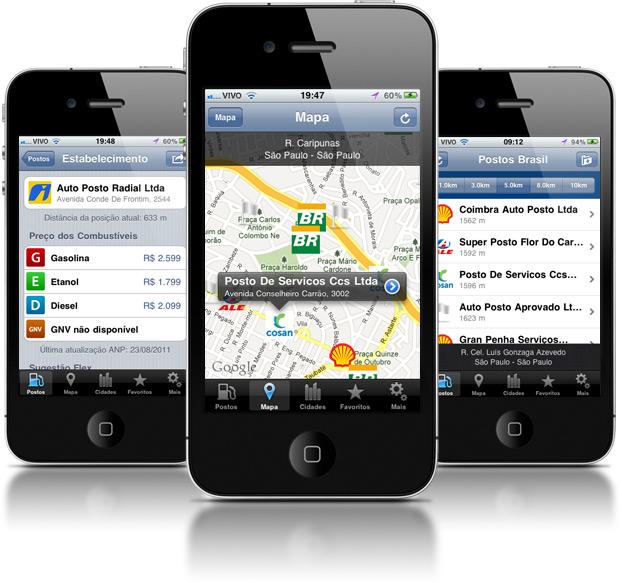 Postos Brasil - iPhones