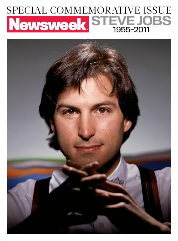 Steve Jobs na capa da Newsweek