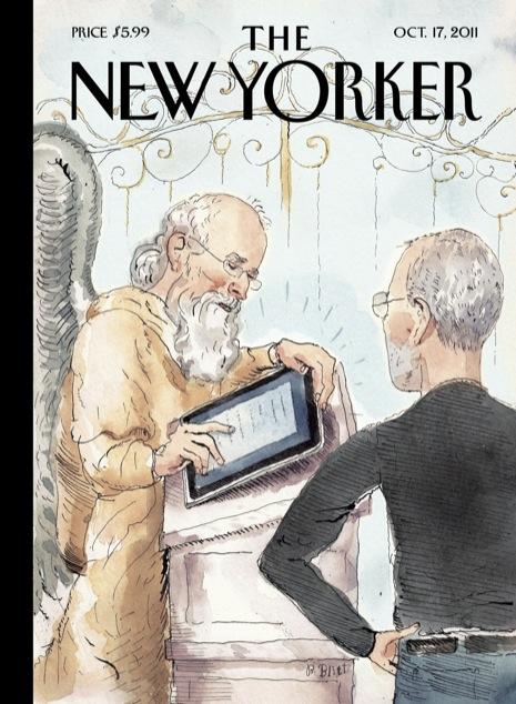 Steve Jobs na capa da The New Yorker