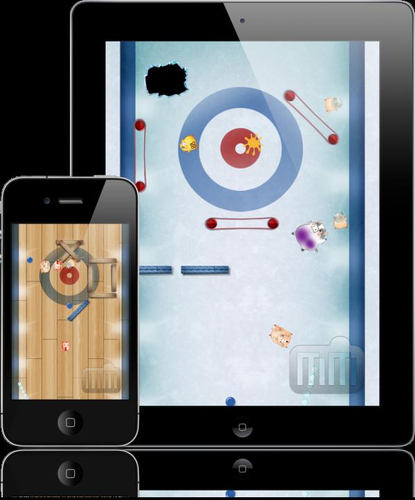 Pig Curling - iPad e iPhone