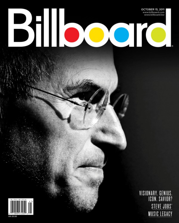 Steve Jobs na capa da Billboard