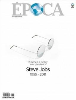 Steve Jobs na capa da Época