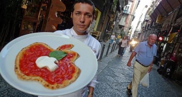 Pizza em homenagem a Steve Jobs