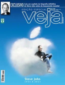 Steve Jobs na capa da VEJA