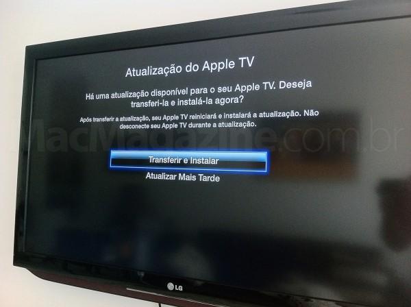Apple TV com iOS 5