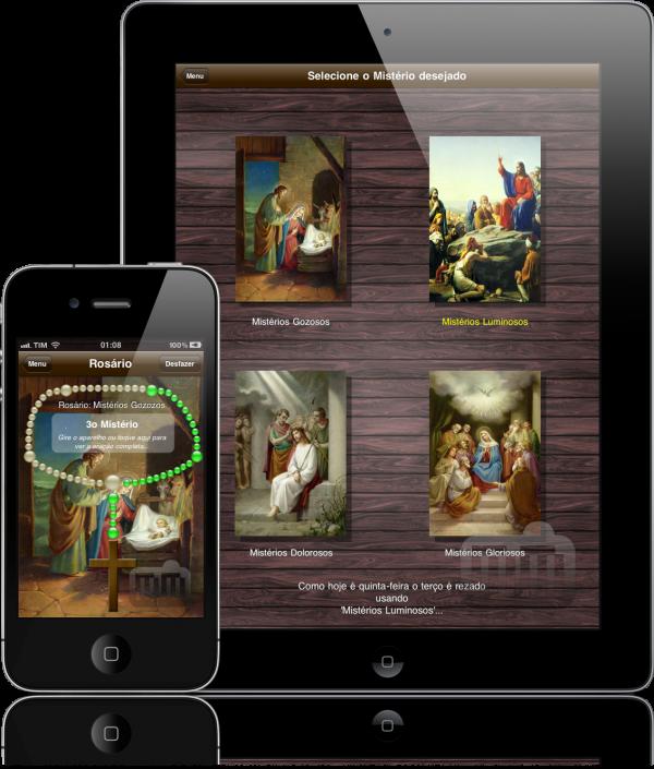 Terço - iPad e iPhone