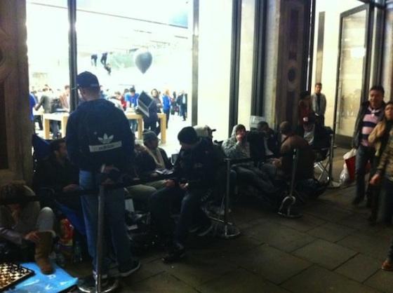 Fila - Apple Store, Regent Street