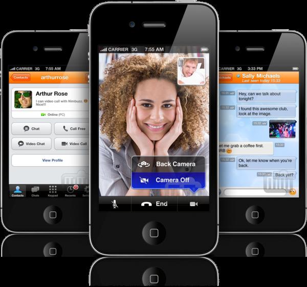 Nimbuzz 2.3 em iPhones