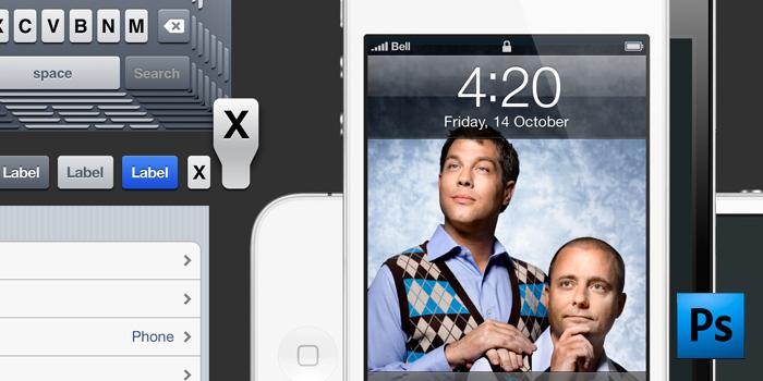 GUI do iOS 5