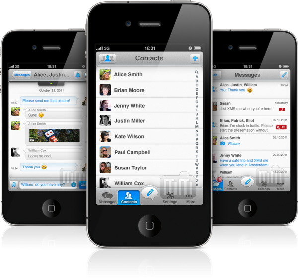 eBuddy XMS - iPhones
