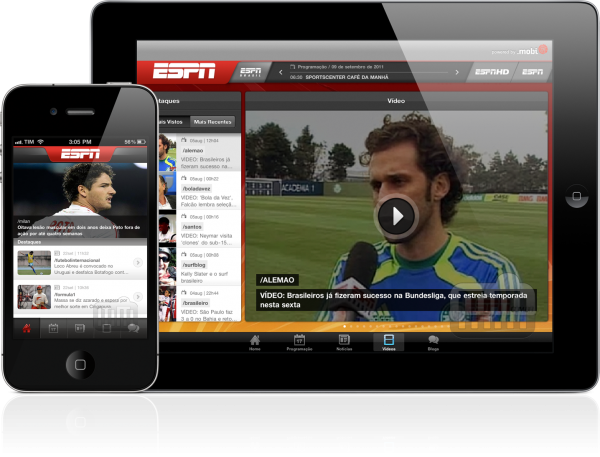 ESPN Brasil - iPhone e iPad