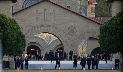 Memorial para Steve Jobs em Stanford