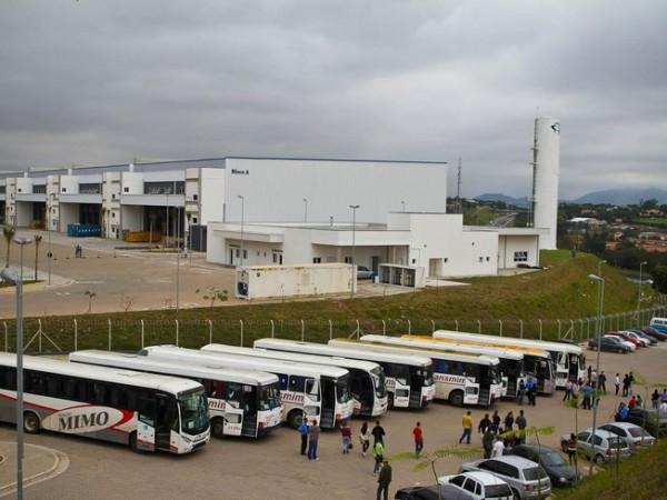 Foxconn em Jundiaí, no Brasil