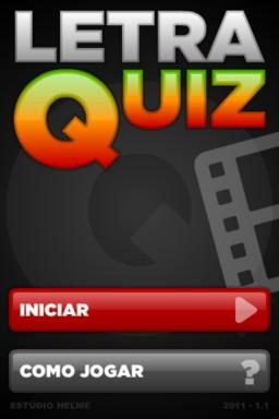 LetraQuiz - iPhone