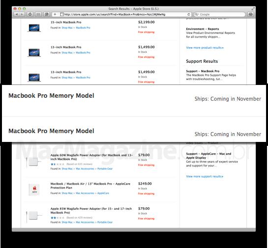 Memória para MacBooks Pro