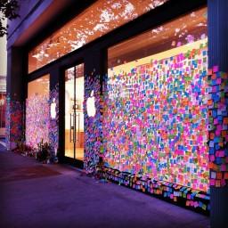 Homenagens - Apple Store, Palo Alto
