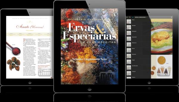 Ervas & Especiarias - iPads