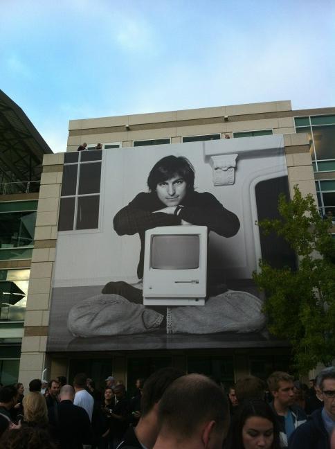 Evento para Steve Jobs em Cupertino