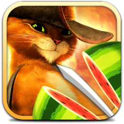 Ícone de Fruit Ninja: Puss in Boots