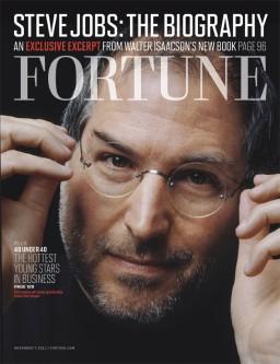 Steve Jobs na capa da FORTUNE