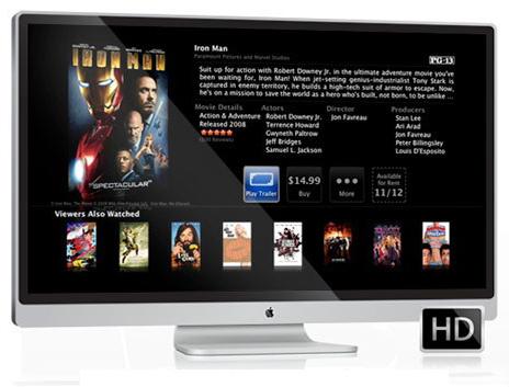 Mockup de TV da Apple