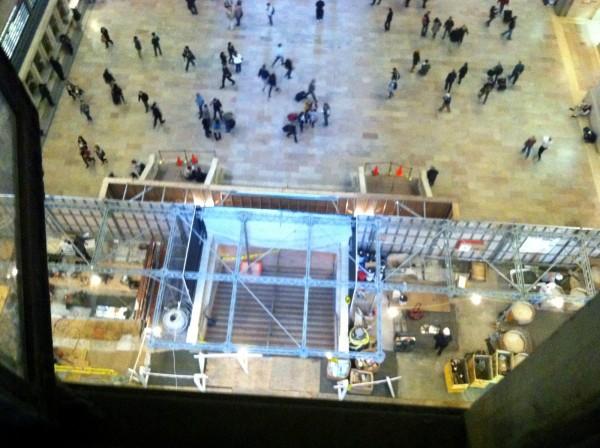 Apple Retail Store do Grand Central Terminal em construção