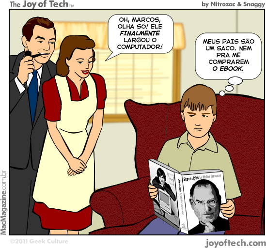 Joy of Tech - O livro de Jobs