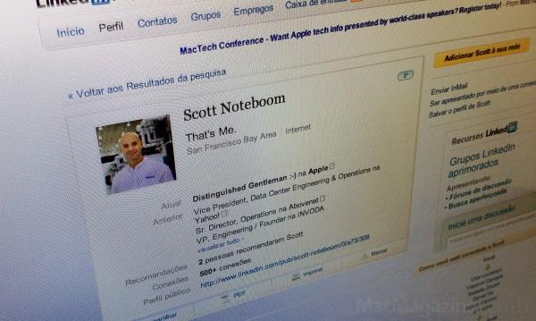 Scott Noteboom, chefe de operações de data centers do Yahoo!